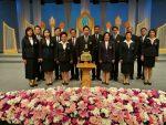 รศ.ดร.จอมพงศ์ มงคลวนิช กรรมการสภามหาวิทยาลัยสยาม นำผู้บริหาร-ผู้นำนักศึกษา บันทึกเทปถวายพระพร 12 สิงหา มหาราชินี