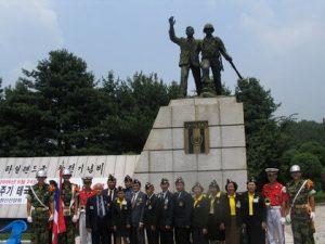 อนุสาวรีย์เชิดชูและสดุดีวีรกรรมของทหารไทย ตั้งอยู่ที่ ตำบลอุนชอน เมืองโปชอน จังหวัดเคียงกิ ประเทศเกาหลีใต้