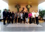 De La Salle University Dasmarinas Philippines เยี่ยมชมห้องสมุด มหาวิทยาลัยสยาม