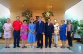 ต้อนรับ ศาสตราจารย์ Wei Chunbei เลขาธิการคณะกรรมการจากGuangxi University of Finance and Economics