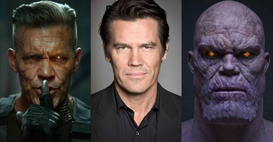 josh frolin-thanos and cable in deadpool