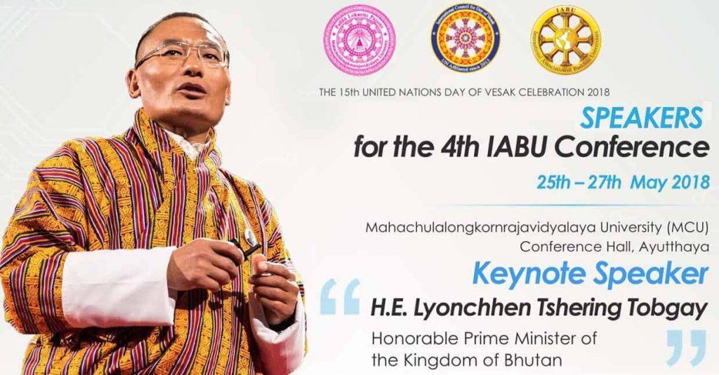 lyonchhen-tshering-tobgay-15th-united-nations-day-of-vesak-celebration-2018