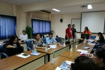 ประชุม อพส. กลุ่มงานบริการ-เทคโนโลยีสารสนเทศ ณ มหาวิทยาลัยเกริก