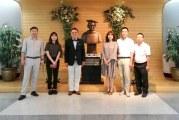 DR CHEOL JE  CHO  และคณะผู้บริหารจาก ENOZ  มาเยี่ยมชมสำนักทรัพยากรสารสนเทศ