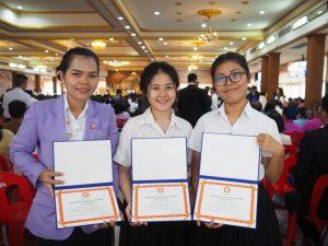 นักศึกษา-ม.สยาม-รับรางวัลความประพฤติดี-2561-ครั้งที่ 57