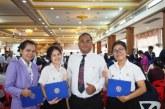 นักศึกษา ม.สยาม รับเกียรติบัตร รางวัลความประพฤติดี ประจำปี 2561