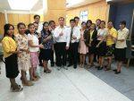 การพัฒนาบุคลากร สำนักหอสมุดและทรัพยากรสารสนเทศ ปีการศึกษา 2561