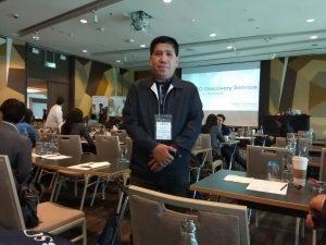 สุธน สุภาวงศ์ ผู้อำนวยการห้องสมุด-EBSCO Annual Conferences 2018-สุธน สุภาวงศ์