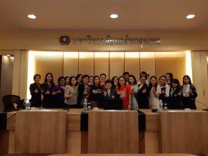 ประภาพร ปาละกวงศ์ ณ อยุธยา-ประชุมกลุ่มบริการและเทคโนโลยีสารสนเทศ คณะอนุกรรมการพัฒนาระบบและเครือข่ายห้องสมุด สถาบันอุดมศึกษาเอกชน (อพส.) ครั้งที่ 3/2561