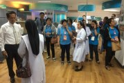 คณะอาจารย์ เจ้าหน้าที่ทางการศึกษา School in Palawan สาธารณรัฐฟิลิปปินส์ เยี่ยมชมหอสมุด
