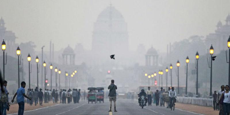 ฝุ่น-มลพิษ กรุงเดลี ประเทศอินเดีย