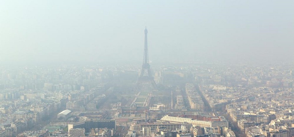 ฝุ่นมลพิษทางอากาศในกรุงปารีส