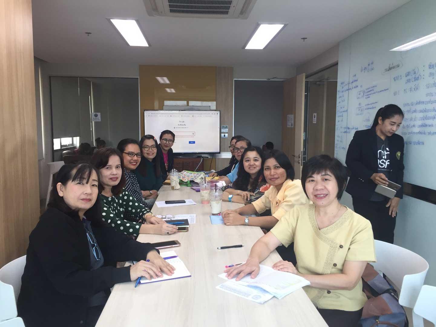 การประชุมกลุ่มงานพัฒนาและวิเคราะห์ทรัพยากรสารสนเทศ ในคณะอนุกรรมการพัฒนาระบบและเครือข่ายห้องสมุดสถาบันอุดมศึกษาเอกชน (อพส.) ครั้งที่ ๑๖/๕/๒๕๖๒