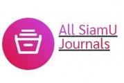 SiamU Publications วารสารและสิ่งตีพิมพ์ทางวิชาการของมหาวิทยาลัยสยาม