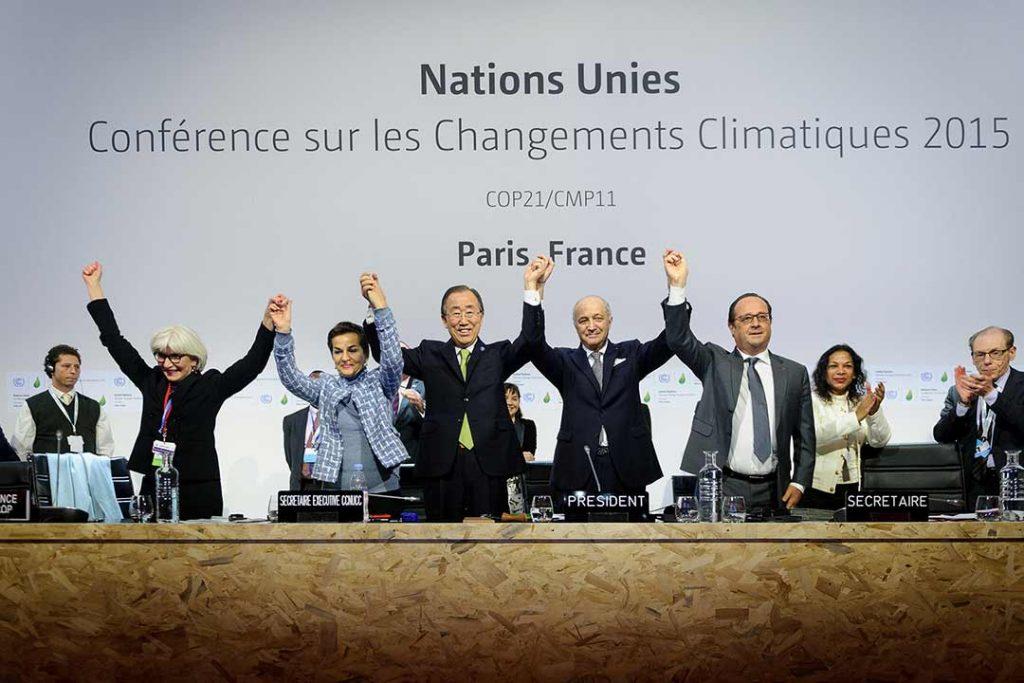ข้อตกลงปารีส เกี่ยวกับสภาพภูมิอากาศ Paris agreement on climate