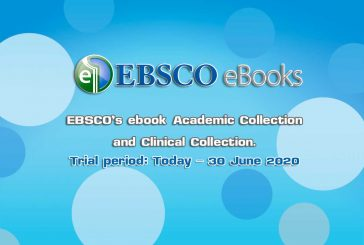 EBSCO's ebook Academic Collection and Clinical Collection Today – 30 June 2020
