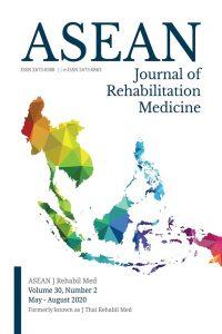 ASEAN Journal of Rehabilitation Medicine