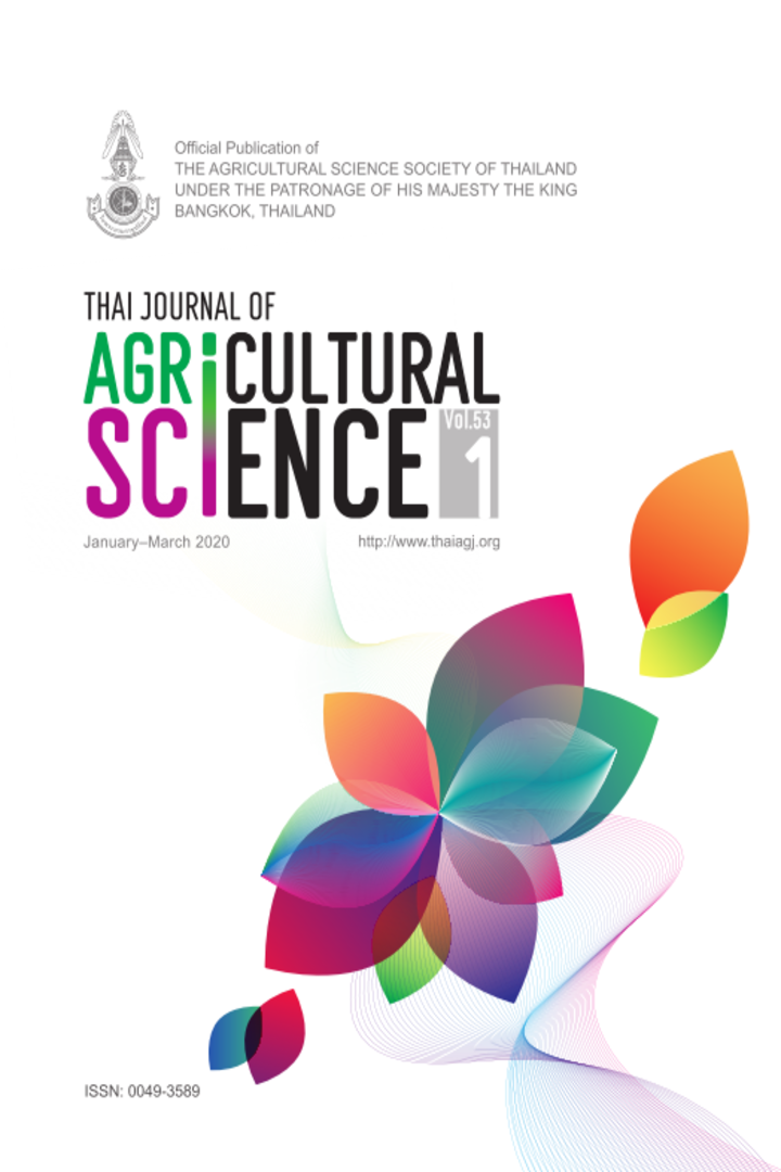 Thai Journal of Agricultural Science