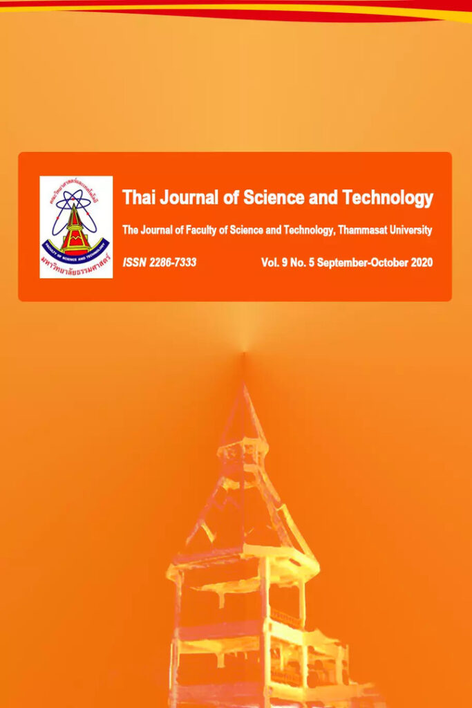 Thai Journal of Science and Technology