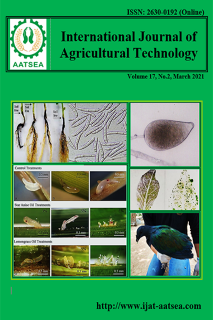 International Journal of Agricultural Technology