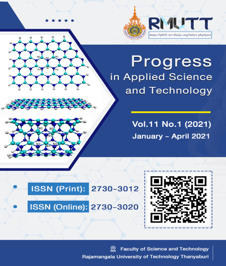 Progress in Applied Science and Technology