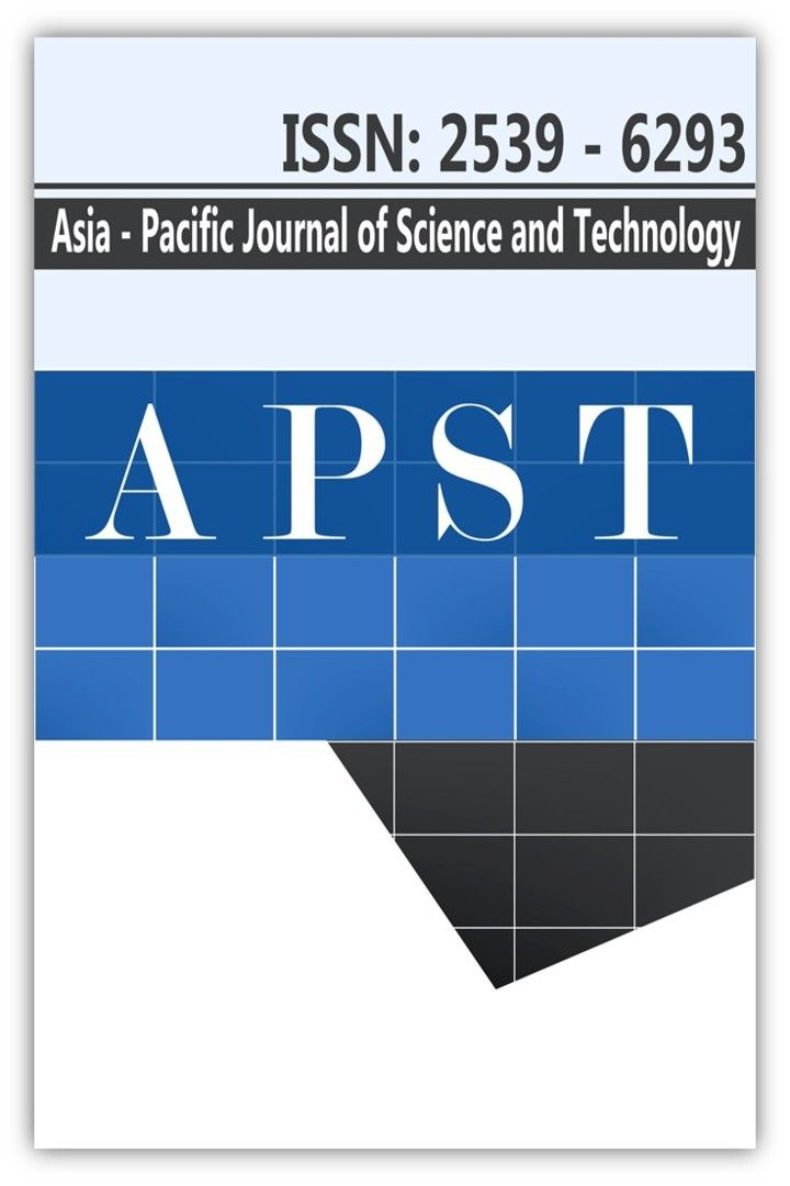 Asia-Pacific Journal of Science and Technology